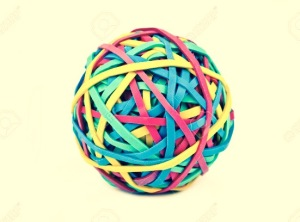 Rubberband ball