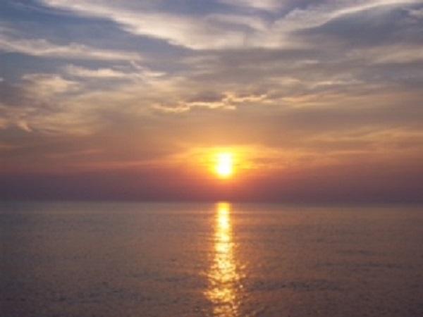Sunset now